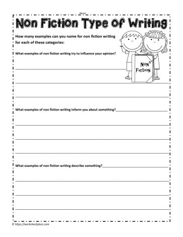 4th Grade Reading Response Worksheets Non Fiction Worksheet Worksheets