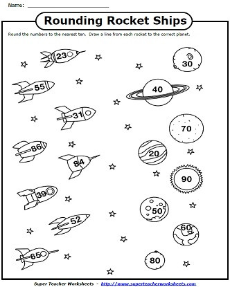 4th Grade Rounding Worksheets Printable Rounding Worksheet