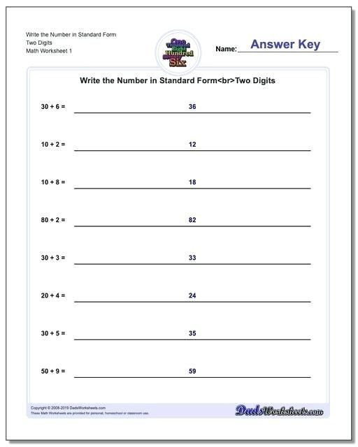 5th Grade Expanded form Worksheets Pin On Worksheet & Template