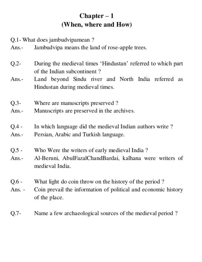 5th Grade History Worksheets Cambridge social Science History Cbse Worksheets