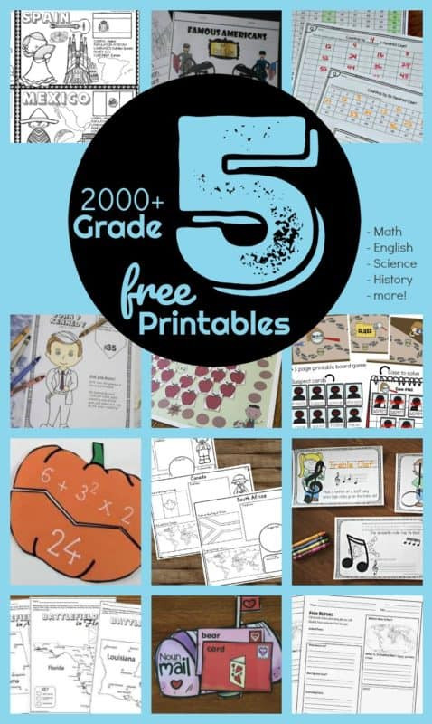 5th Grade History Worksheets Free 5th Grade Worksheets