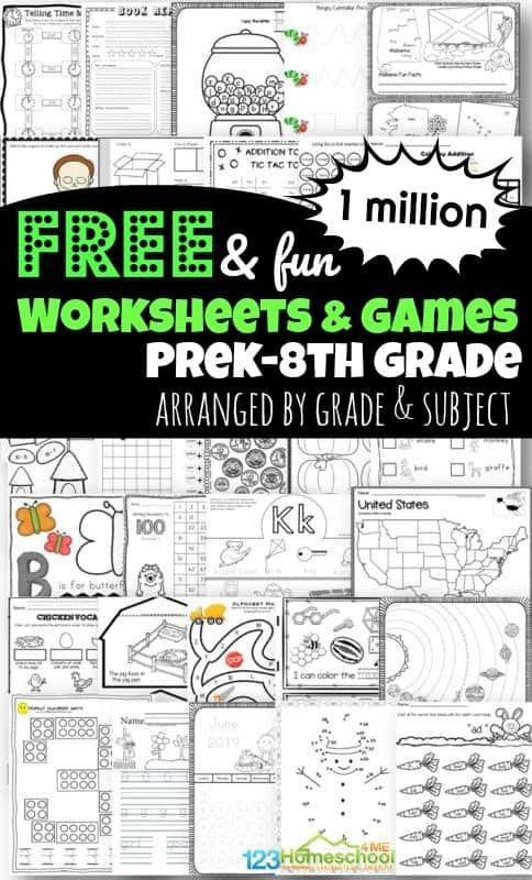 5th Grade Science Practice Worksheets 1 Million Free Worksheets for Kids