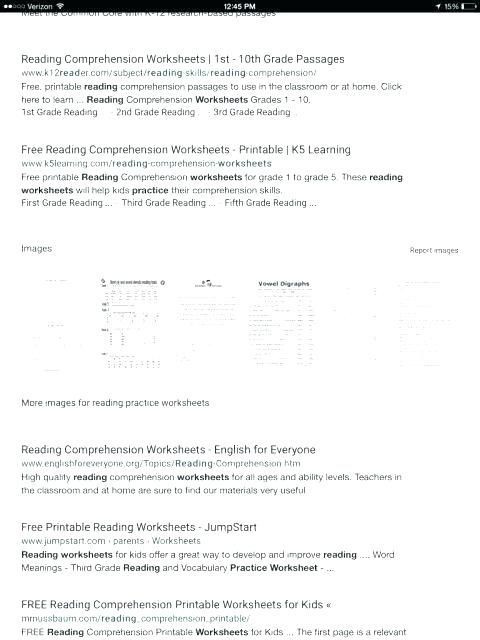5th Grade Worksheets Printable Reading Pin On Worksheet & Template