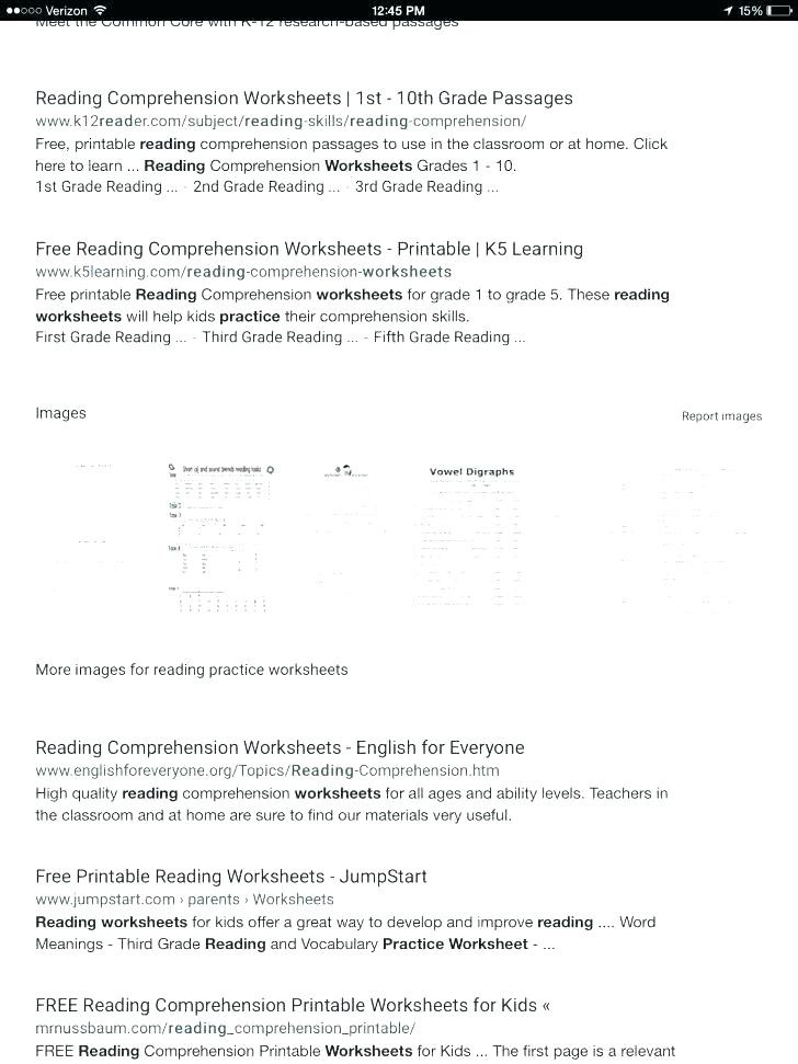 5th Grade Worksheets Printable Reading Reading Worksheets for 2nd Grade – Momami