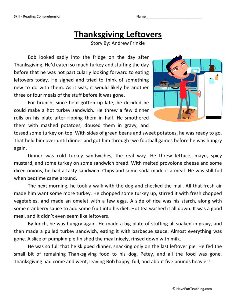 5th Grade Worksheets Printable Reading Worksheet 59 Splendi Printable Reading Worksheets