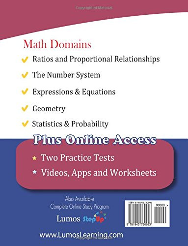 6th Grade istep Practice Worksheets istep Test Prep 6th Grade Math Practice Workbook and Full
