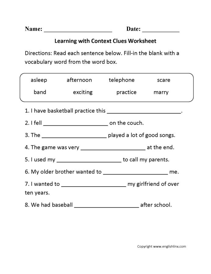 8th Grade Vocabulary Worksheets Pdf Volume Word Problems 5th Grade Worksheet Vocabulary Using