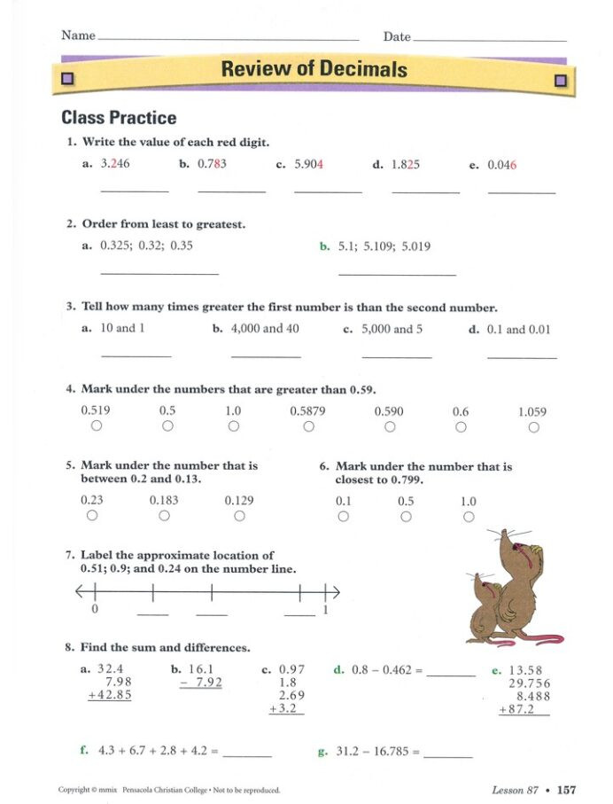 Abeka 3rd Grade Math Worksheets Abeka Grade Homeschool Child Arithmetic Kit Christianbook
