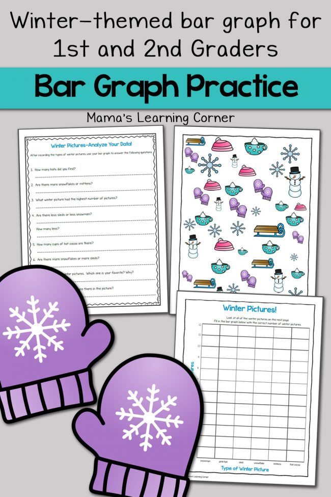 Bar Graph Worksheets Grade 7 Winter Bar Graph Worksheets Mamas Learning Corner