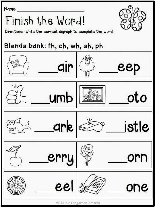 Blends Worksheet for First Grade Pin On Hello