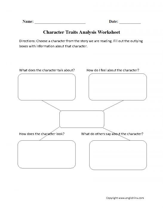 Character Traits Worksheet 2nd Grade 10 Main Character Worksheets 2nd Grade In 2020
