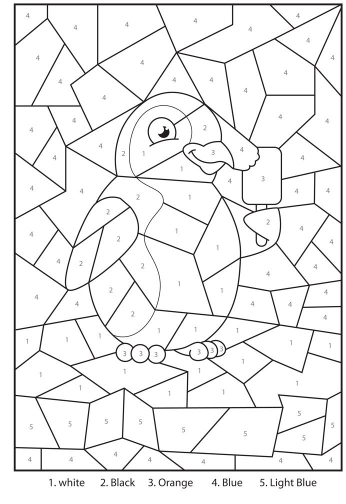 Coloring Worksheets for 3rd Grade Coloring Free Printable Penguin at the Zoo Colour by