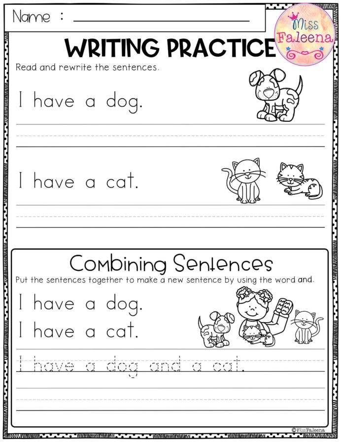 Combining Sentences Worksheet 5th Grade Free Writing Practice Bining Sentences Sentence