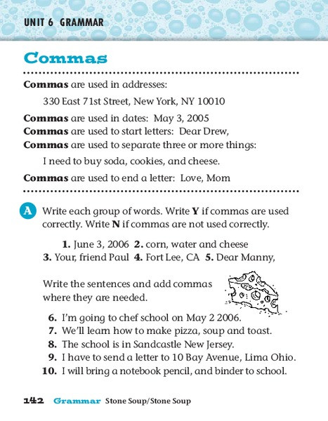 Commas Worksheet 5th Grade Mas Worksheet for 4th 5th Grade