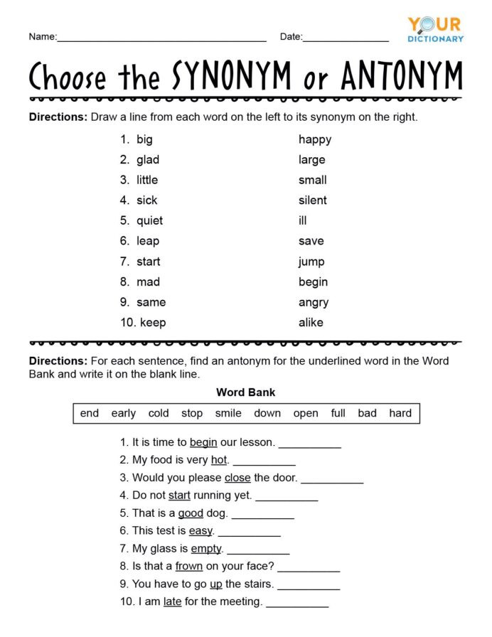 Conjunctions Worksheet 5th Grade Math Algebraic Expressions for Grade 8 Antonym Worksheets