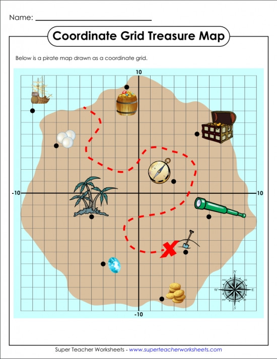 Coordinate Grids Worksheets 5th Grade ordered Pairs and Coordinate Plane Worksheets
