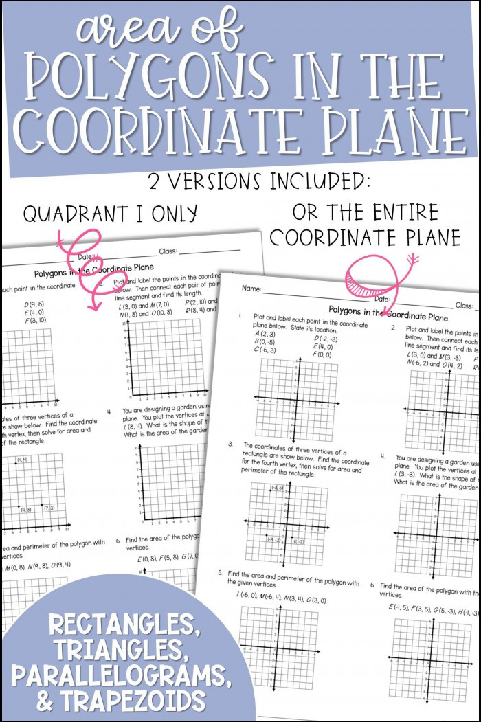 Coordinate Plane Worksheet 5th Grade Coordinate Plane Worksheets