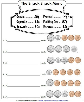 Counting Coins Worksheets 2nd Grade Free Printable Worksheets On Canadian Money