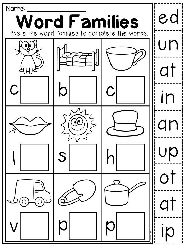 Cvc Worksheet Kindergarten Kindergarten Cvc Worksheet Packet Distance Learning