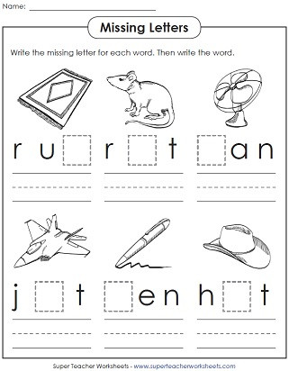 Cvc Worksheet Kindergarten Phonics Worksheets Cvc Words