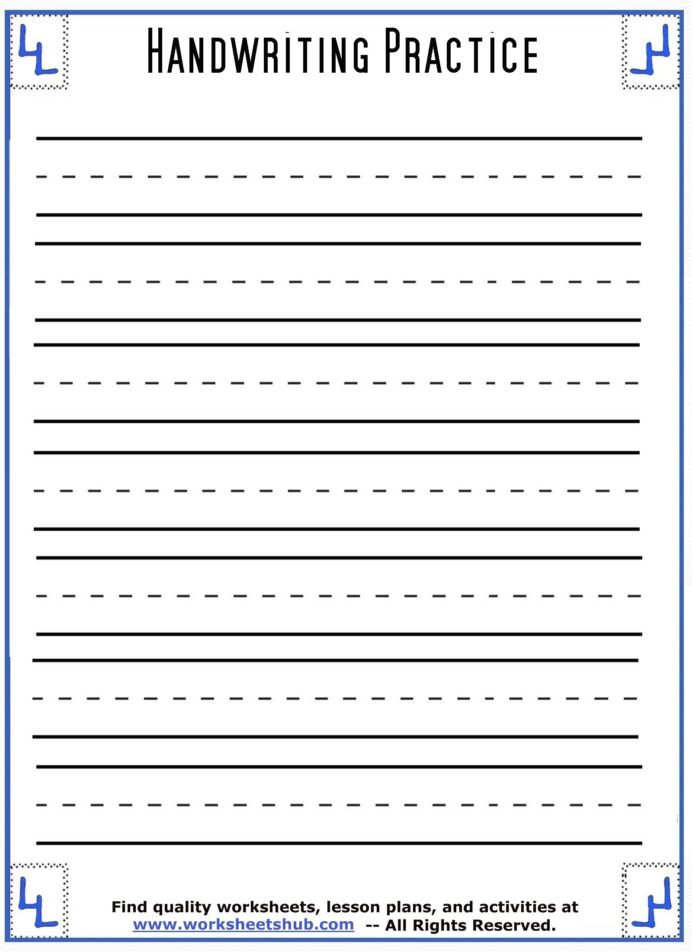 Distributive Property Worksheet 6th Grade Handwriting Sheets Printable Lined Paper Free Worksheets