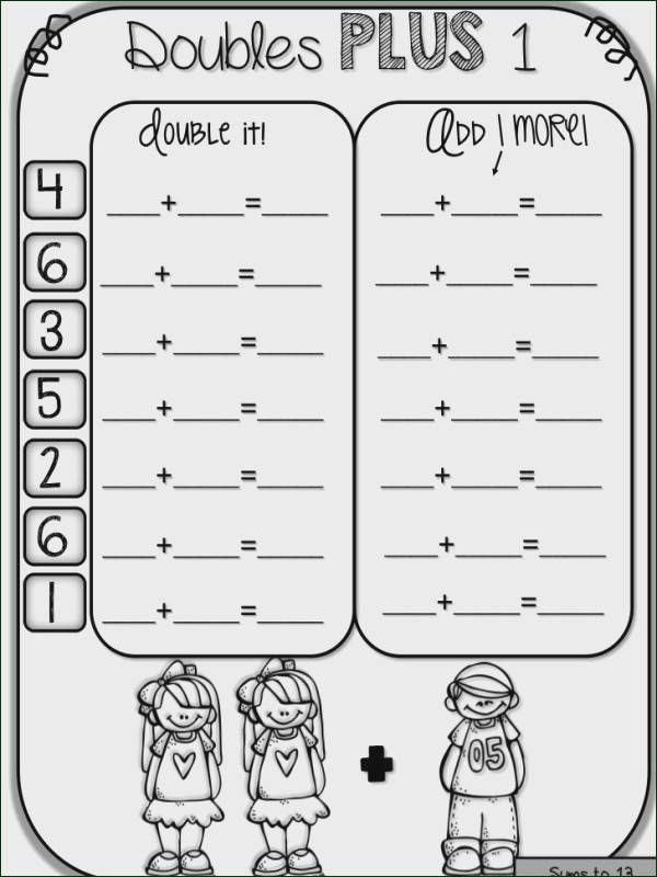 Doubles Math Worksheets Pin On Super Teacher Worksheets