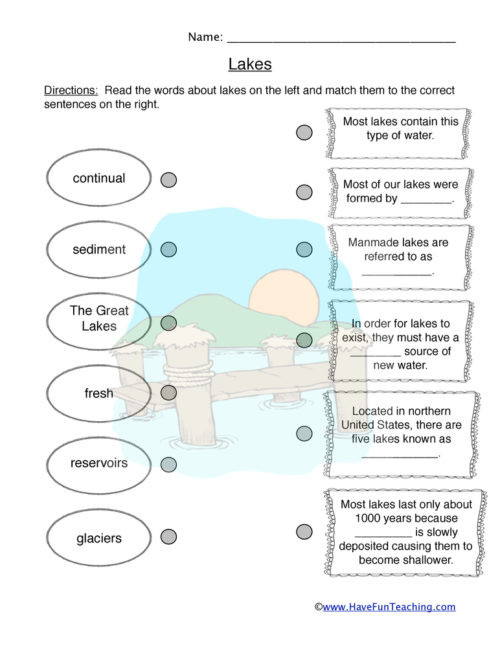 Ecosystem Worksheets 4th Grade Habitats and Biomes Worksheets • Have Fun Teaching