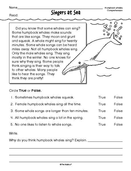 Editing Worksheets 2nd Grade Free Reading Prehension Worksheets for 2nd Grade In 2020