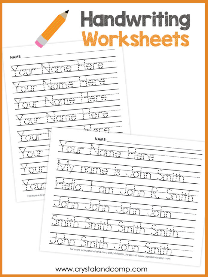 Editing Worksheets 2nd Grade Name Handwriting Worksheets You Can Customize and Edit