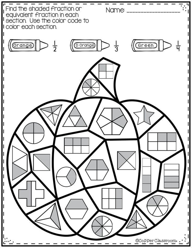 Equivalent Fractions Coloring Worksheet Pin by Margie Carter On Maths In 2020