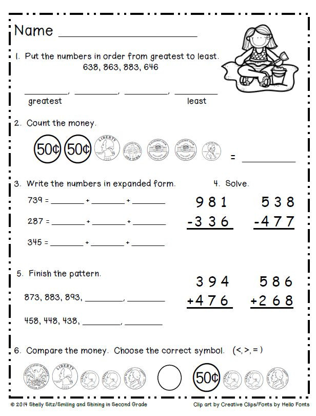 Estimation Worksheet 3rd Grade Front End Addition Lessons Tes Teach