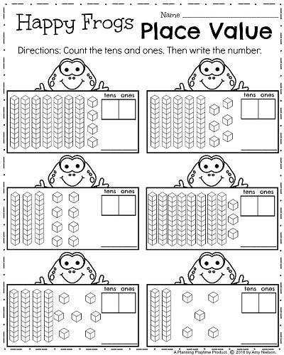 Expanded form Worksheets 1st Grade 20 Place Value Worksheets 1st Grade