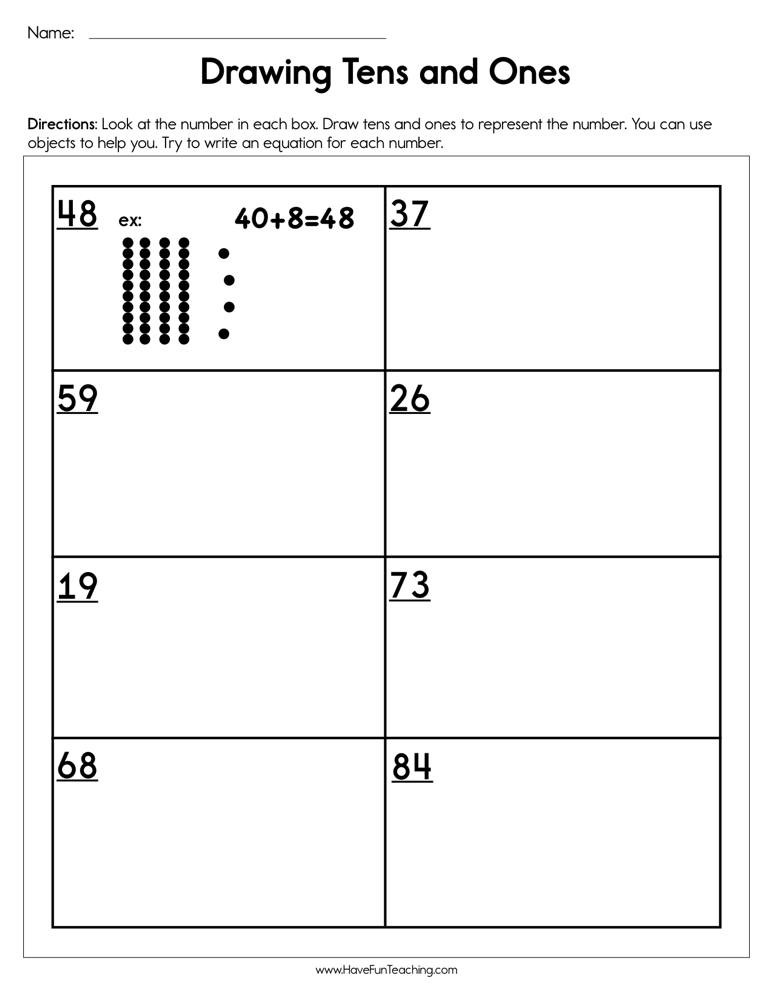 Expanded form Worksheets 1st Grade Expanded Sum Lessons Tes Teach