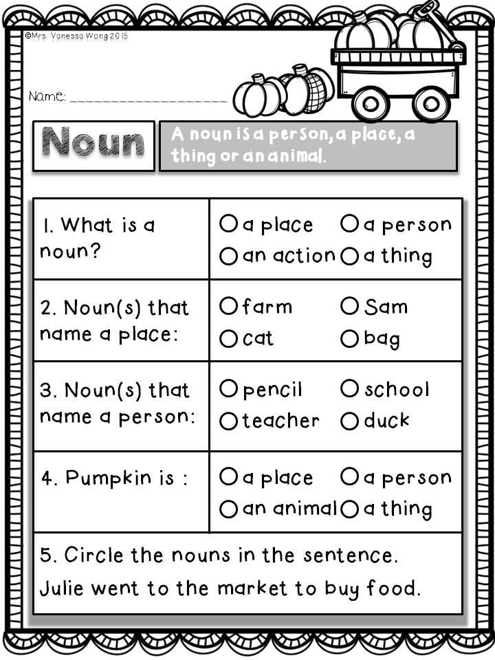 Fall Math Worksheets 2nd Grade Fall Activities for Math and Literacy No Prep Printables