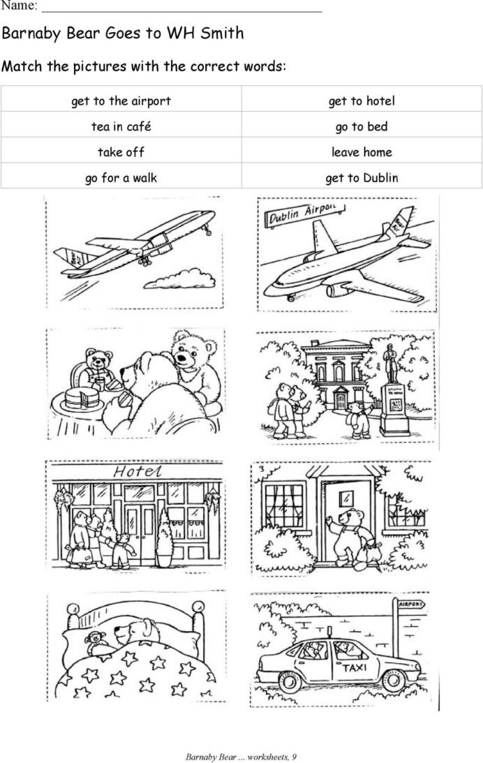 Fifth Grade Measurement Worksheets In Schools Barnaby Bear Goes to Dublin Worksheets Pdf Go