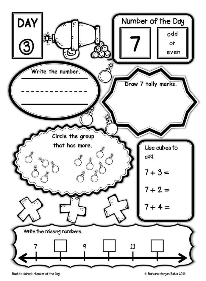 First Grade History Worksheets Number the First Grade Back to School Math Pirate