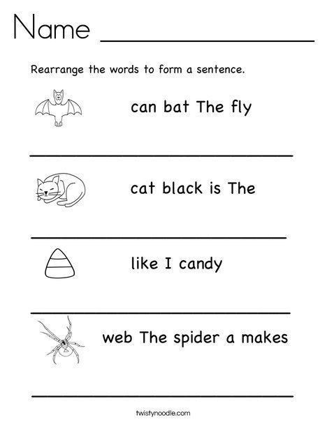 First Grade Sentence Writing Worksheets Copy 1 G Simple Pound Sentences Lessons Tes Teach