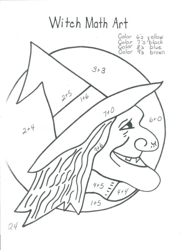 Fractions Worksheets 2nd Grade Halloween Math for 2nd Grade Printable Worksheets and
