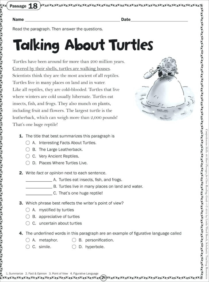 Free 1st Grade Comprehension Worksheets Worksheet Worksheet Sight Word Stories Pdf Reading