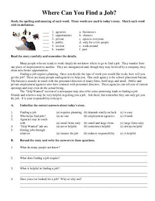 Free 7th Grade Reading Worksheets 9th Grade Reading Prehension Worksheets Free Printables