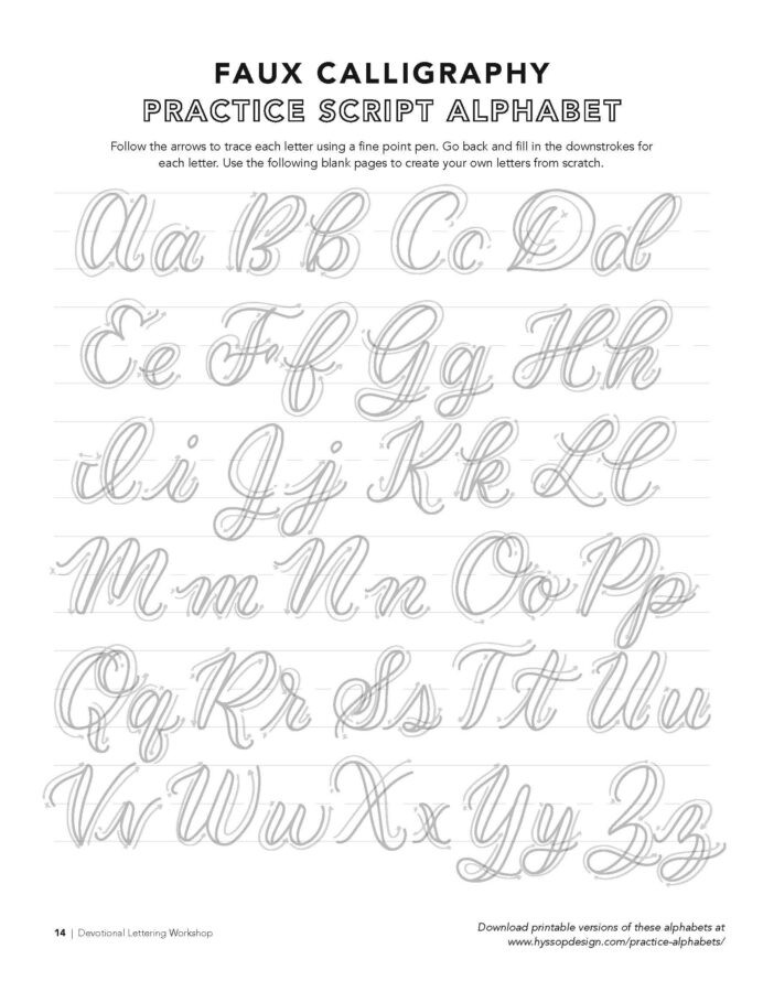 Free Calligraphy Worksheets Printable Free Calligraphy Alphabets Jacy Corral Lettering Alphabet