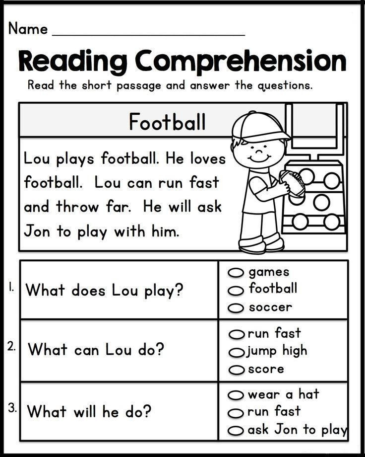 Free First Grade Reading Worksheets 1st Grade English Worksheets มีรูปภาพ