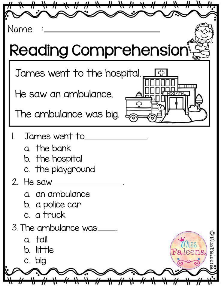 Free First Grade Reading Worksheets Free Reading Prehension