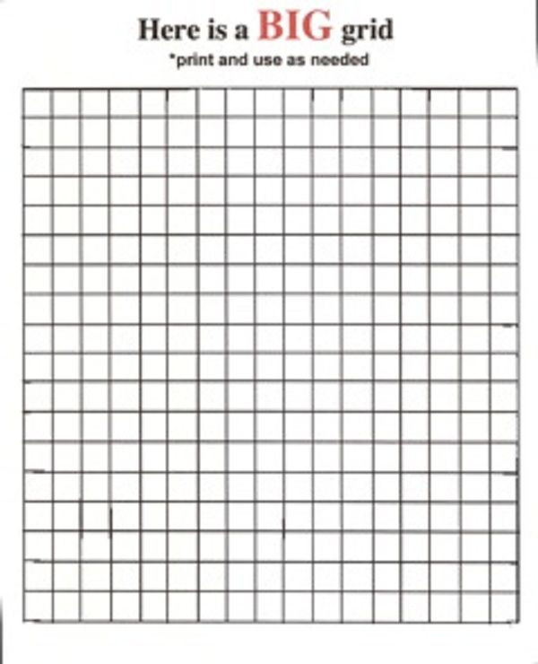 Free Grid Coloring Worksheets Mystery Grid Coloring Pages