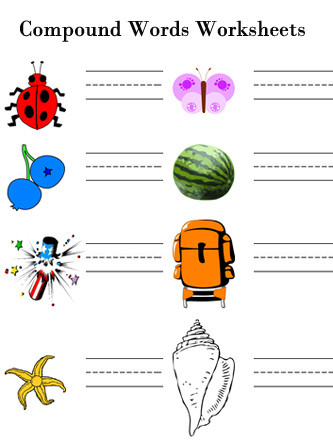 Free Printable Compound Word Worksheets Pound Words Free Printable 2nd Grade English Worksheets