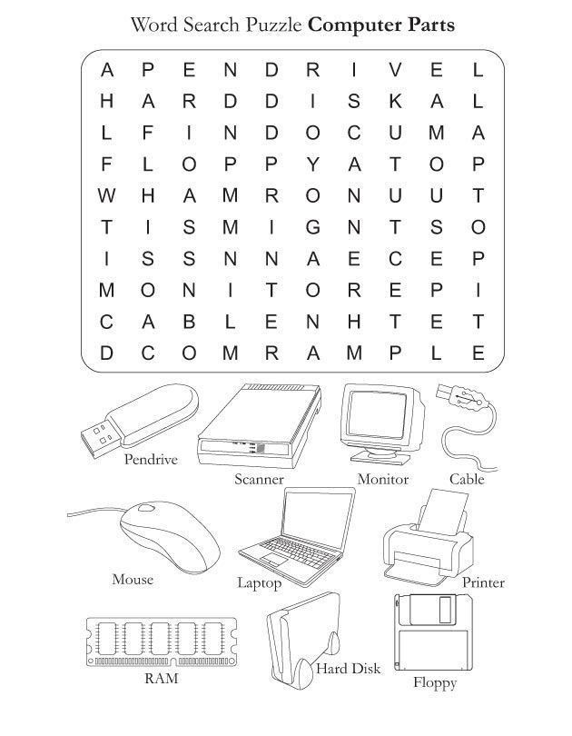 Free Printable Computer Worksheets Pin On Printable Worksheet Template