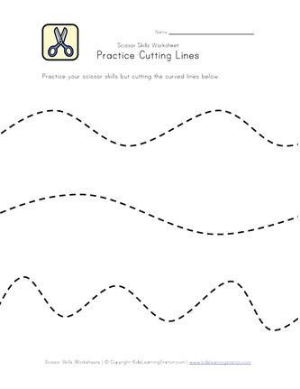 Free Printable Cutting Worksheets Pin On Cutting Practice