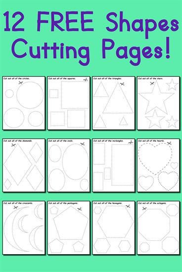 Free Printable Cutting Worksheets Pin On Worksheets Activities & Lesson Plans for Kids