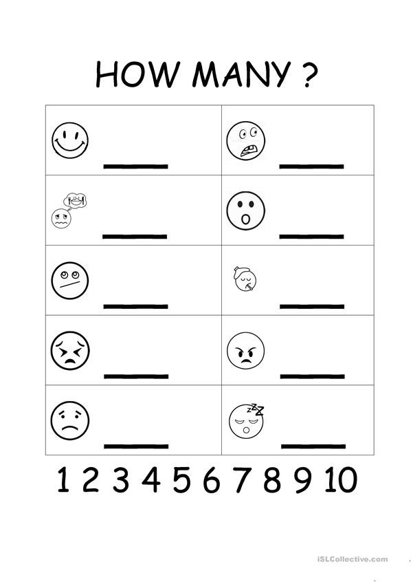 Free Printable Feelings Worksheets Feelings & Emotions Worksheet for Young Learners English