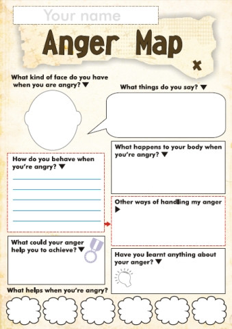 Free Printable Feelings Worksheets Free Anger and Feelings Worksheets for Kids